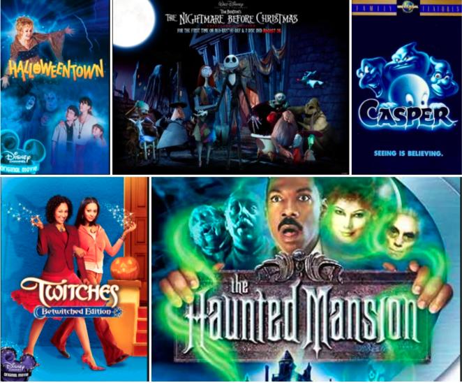 Cavaliers favorite classic Halloween movies.