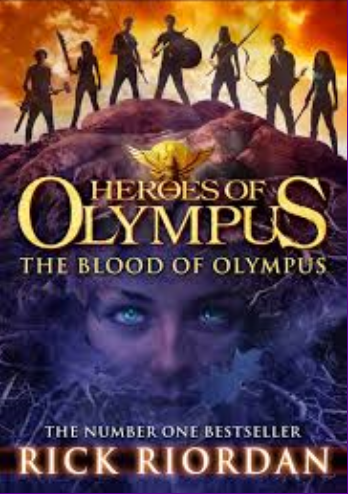 The Blood of Olympus is the final book in The Heroes of Olympus series.