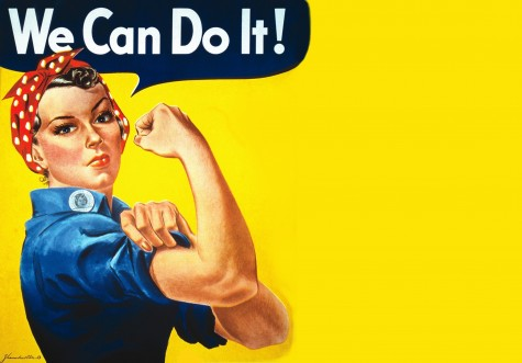 Rosie the Riveter: Strike this pose, and people will immediately recognize who you are dressed up as.