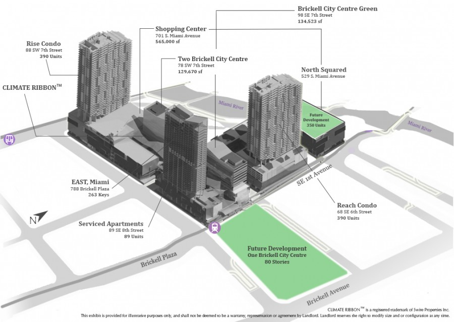 The project will not only impact the surrounding Downtown and Brickell areas, it will affect the entire city by attracting tourists and commerce.