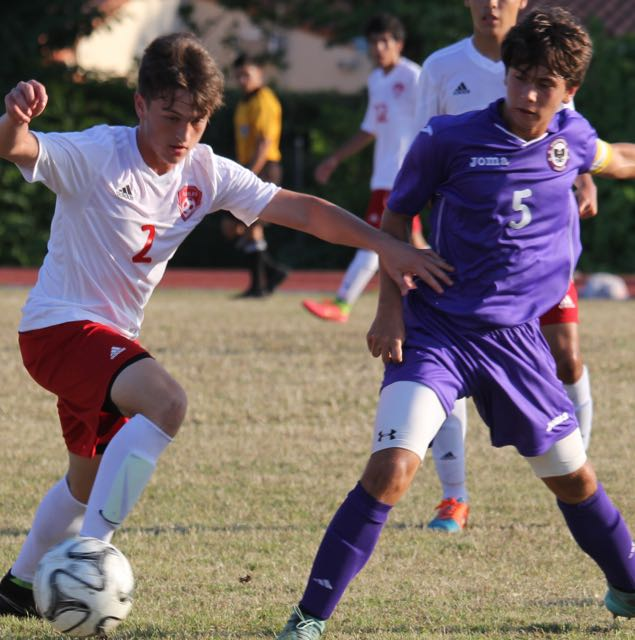 Boys Soccer: Gables vs Southwest