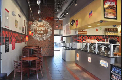 Jimmy John's is a well-maintained restaurant that makes your subs in less than 5 mins.