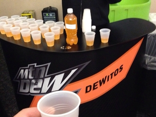 Mountain Dew and Doritos have finally partnered up to create a new soda flavor. Dew you dare try it?
