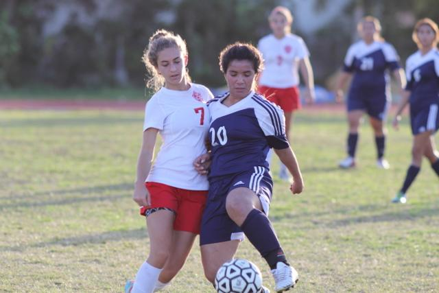 Girls Soccer: Gables vs. Coral Park