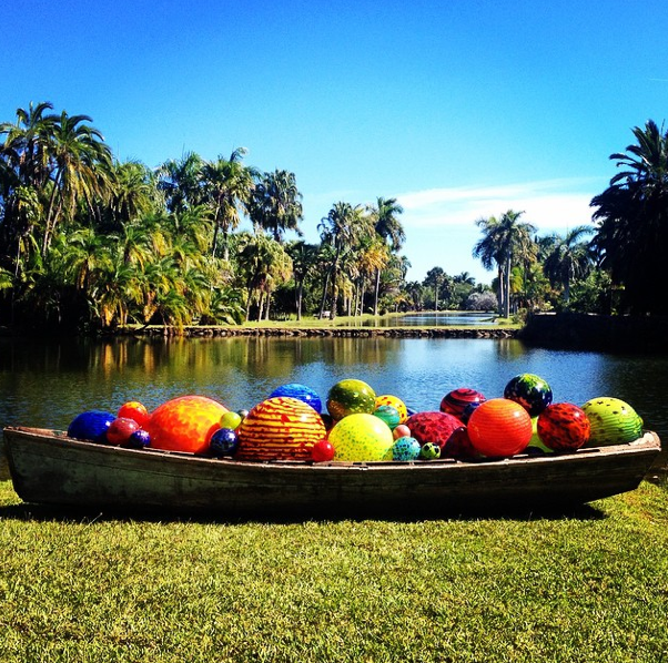 Chihuly is back at Fairchild until May 31!