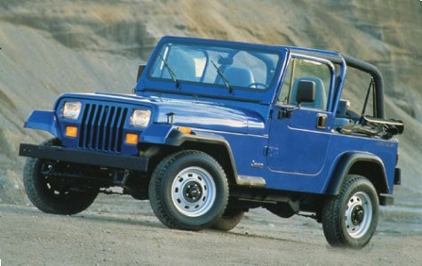 The Jeep Wrangler is