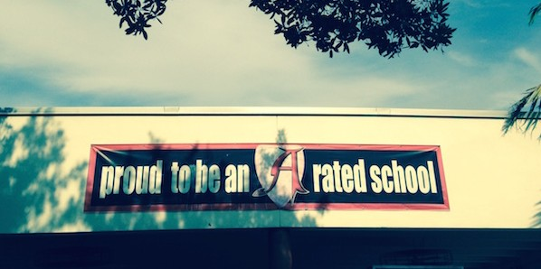 After being an A school, Gables now has a B rating.
