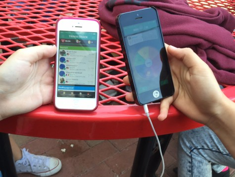 With Trivia Crack, friends can play trivia games versus each other.