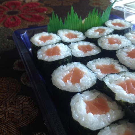 Sushi is an irresistible treat for some, but to others, it represents an unhealthy meal.