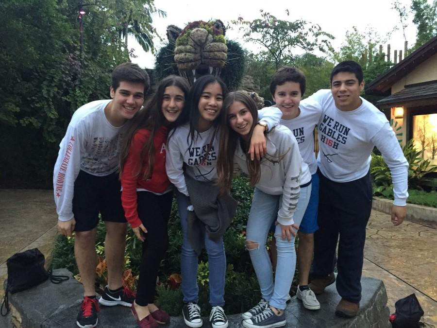 Juniors Experience Thrills of Busch Gardens
