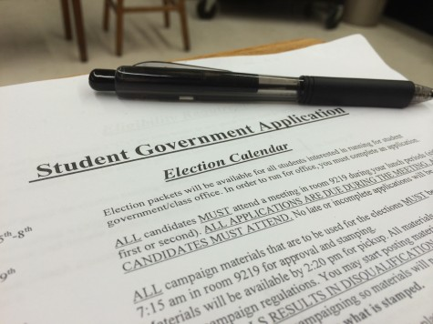 Student Government Election Information
