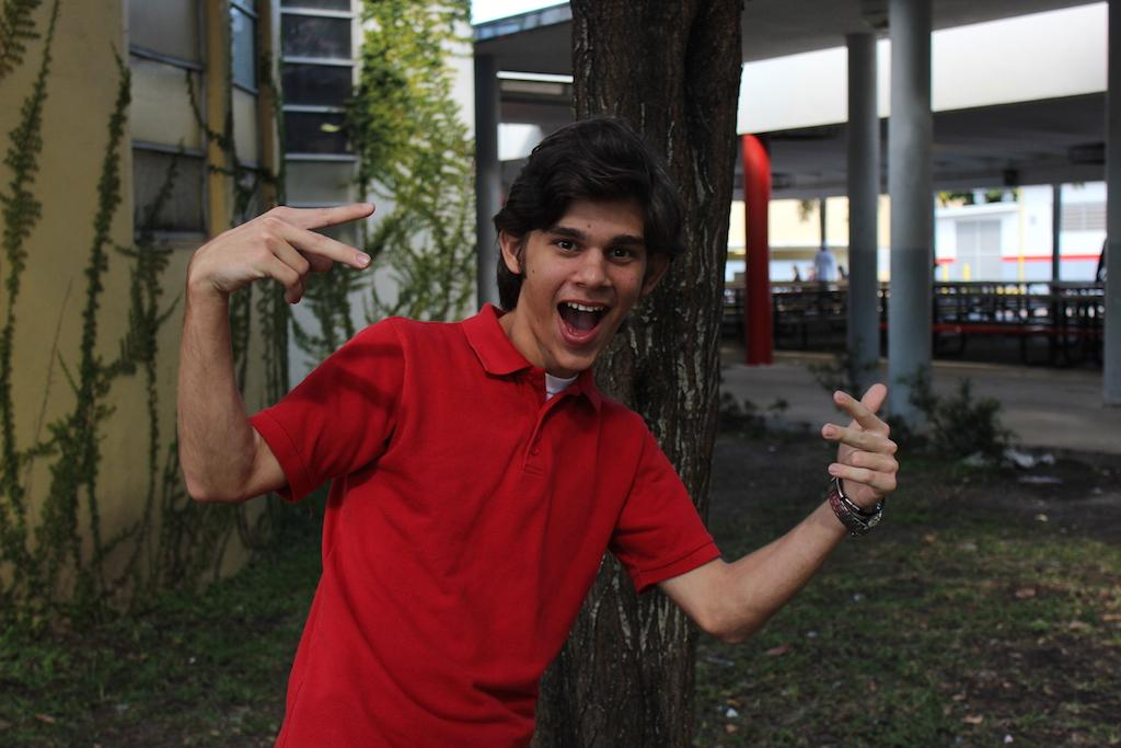 You do not want to miss out on saying hello to Ricardo in the halls - he will certainly strike a pose for you!