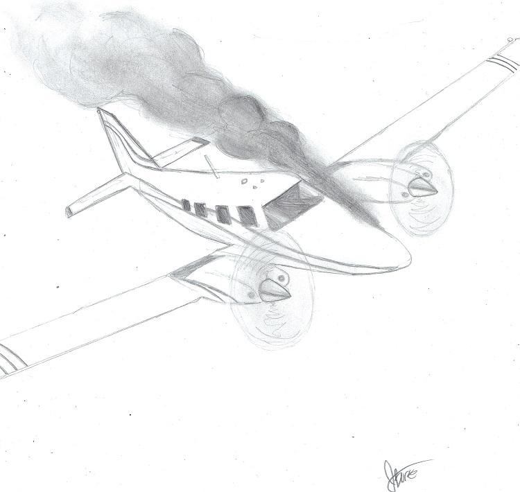 %0ADepicted+is+a+Piper+PA+34+Seneca+Aircraft++with+a+smoking+Engine.