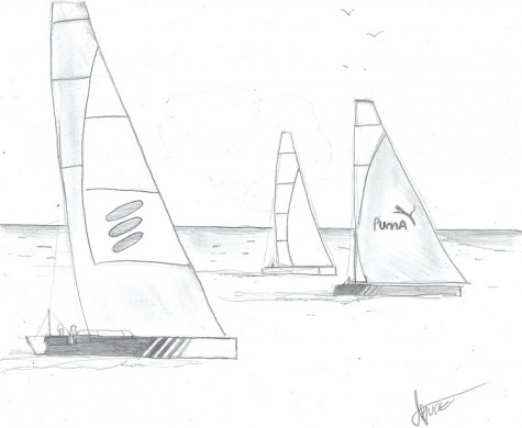 The Volvo Ocean Race is a sailing competition of great prestige.
