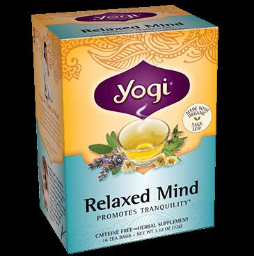 Yogi Tea's Relaxed Mind Herbal Tea