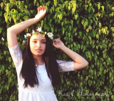 """Junior Lily Obando posts a picture she feels beautiful in and hashtags """"20 Beautiful Women."""""""