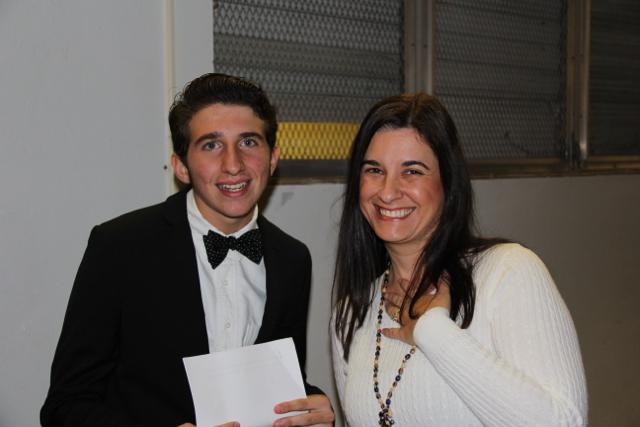 Mrs.+Van+Wyk+at+the+IB+Pinning+Ceremony+with+IB+senior+Coby+Sanchez.
