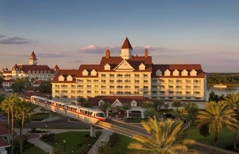 A  beautiful glimpse at Disney's Grand Floridian.