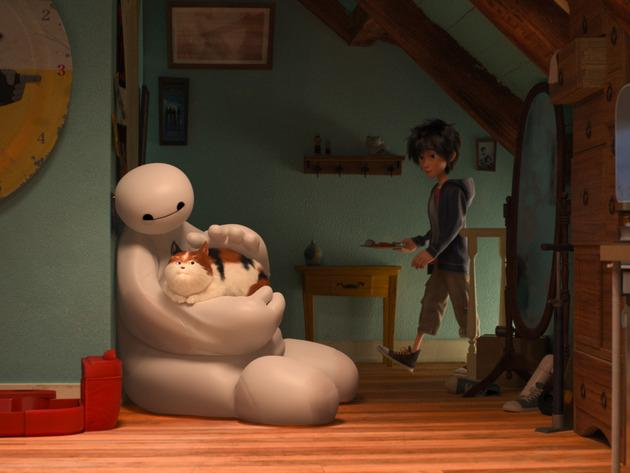 Baymax, the robot who cares for Hiro.