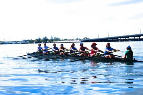 Miami Rowing Club is a great place to start if you are interested in rowing.