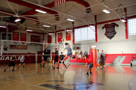 Senior Night For Boys Volleyball Ends With a Win