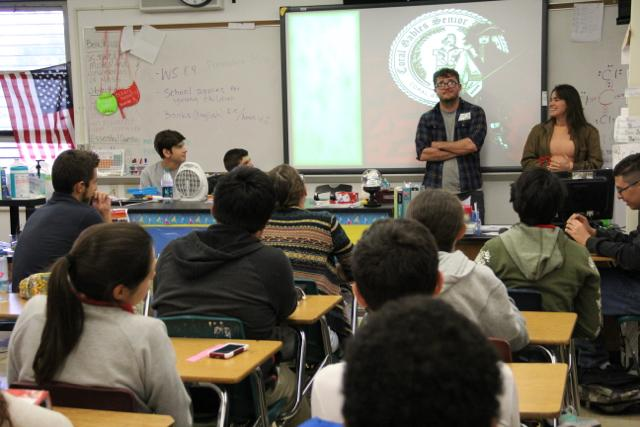 Students got to speak with Gables alumnus Kent Russell, a successful non-fiction author.