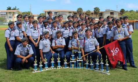 JROTC Drill Team placed 2nd!