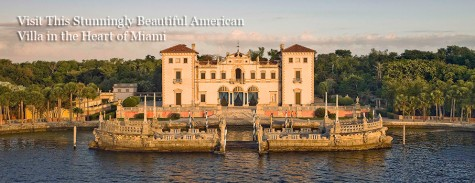The Vizcaya Museum is a great and inexpensive way to spend your Saturday and take advantage of your student discount.