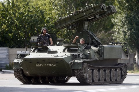 The weapons and vehicles in possession of the Russians currently far outweigh those held by the Ukrainians.