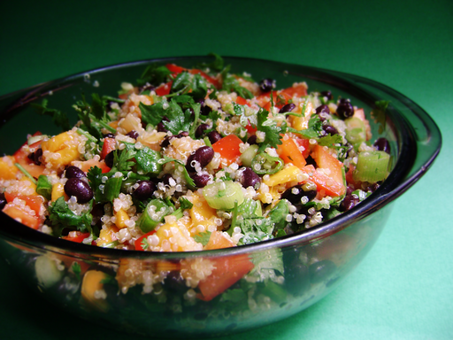 Try to mix quinoa in with your salad.