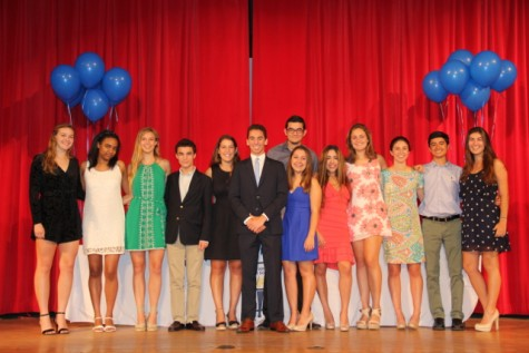 Class of 2017 Officially Inducted into NHS