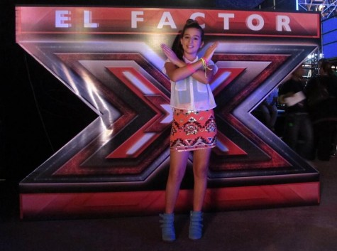 freshman Isabella Gonzalez as a contestant on the  X-Factor
