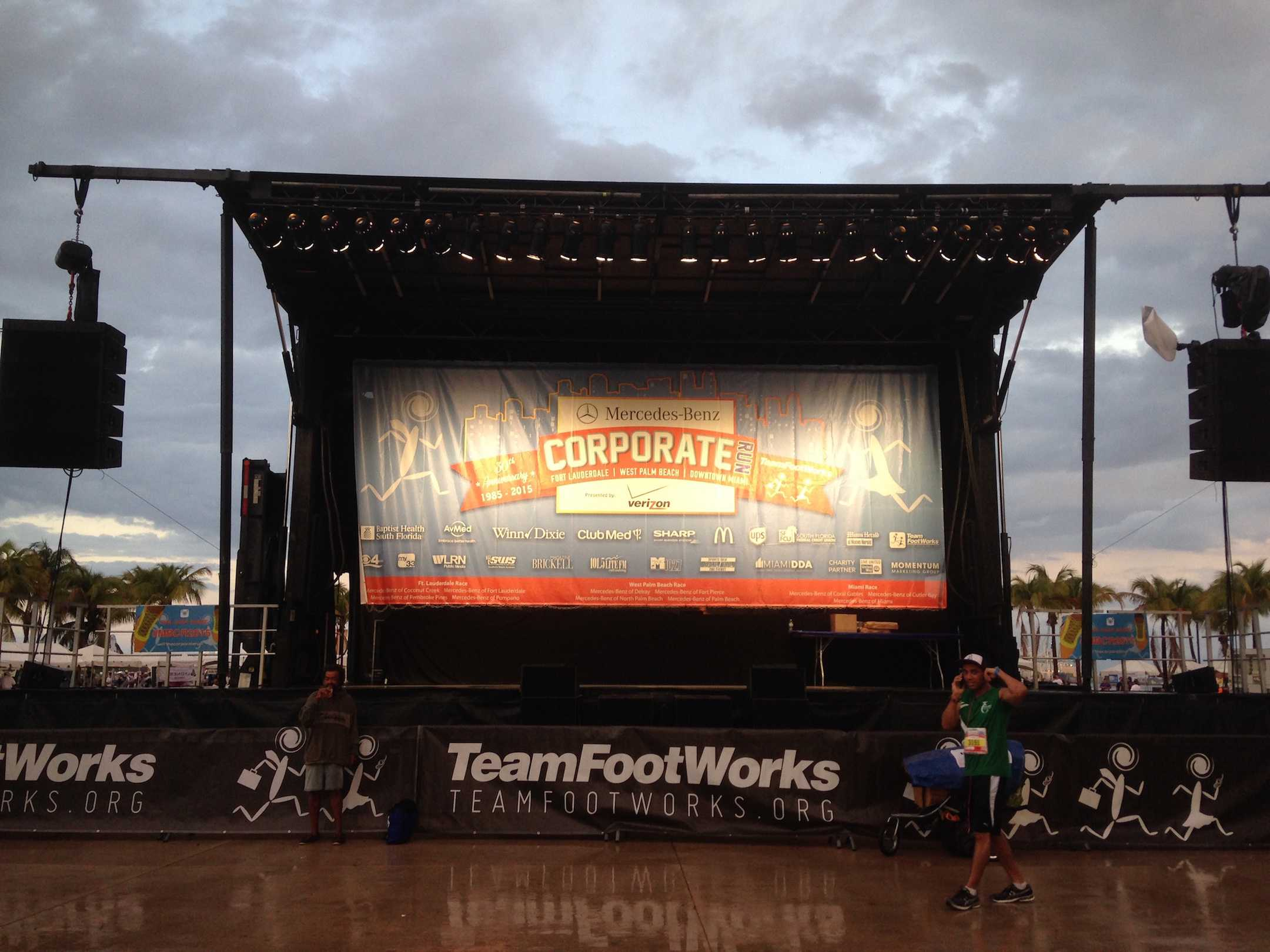 Hundreds of companies and businesses came together at the annual Corporate Run.