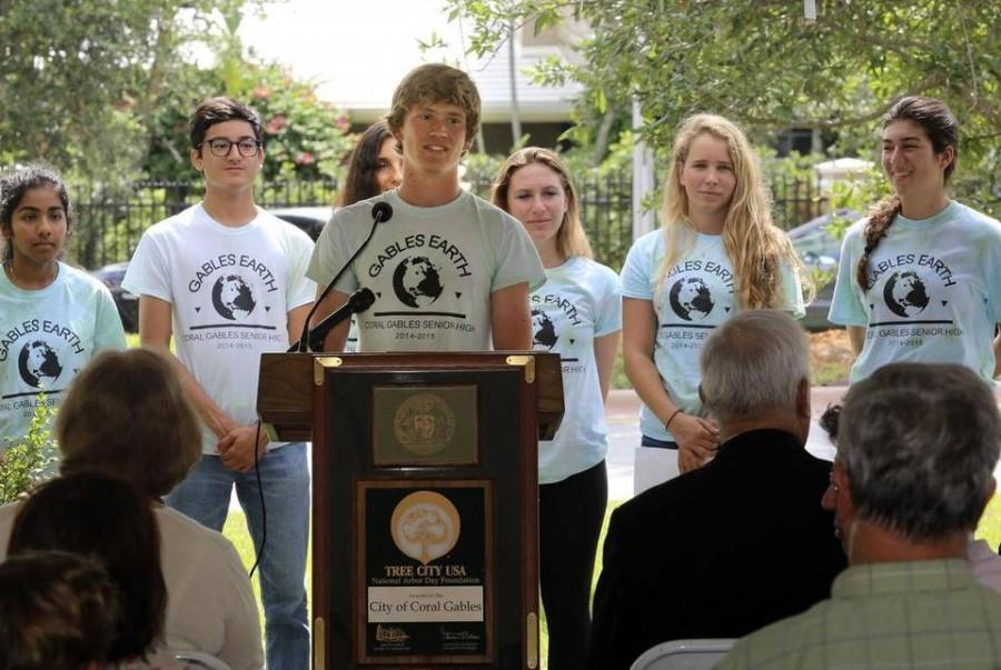 Gables Earth Commemorates Arbor Day