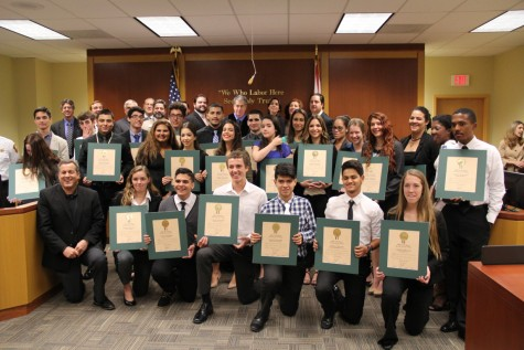 Law Students Attend Mock Trial