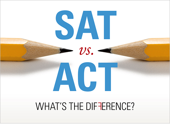 Many  students have a hard time deciding whether to take the SAT or ACT.