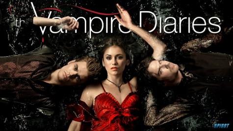 """El """"Diario de un Vampiro"""" roba todas las pantallas."""