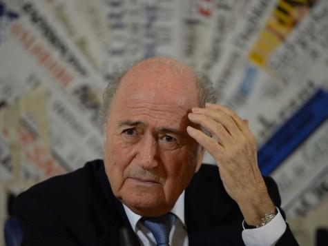 FIFA president Sepp Blatter after the shocking scandal details were brought to light.