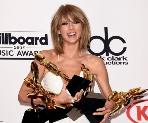 Taylor Swift after her successful trip to the BMA's.