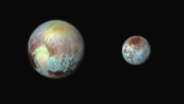 This is the newest image of Pluto sent by NASAs New Horizon Spacecraft.