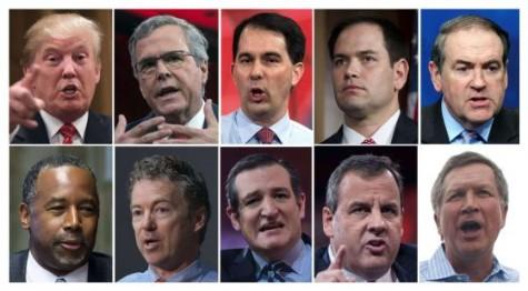 Los candidatos a la presidencia de Estados Unidos.