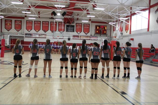 Varsity+Girls+Volleyball+against+Southwest