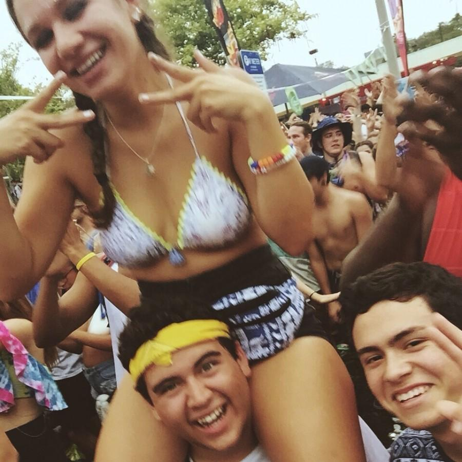 This summer, Cavaliers attended the Mad Decent Block Party.