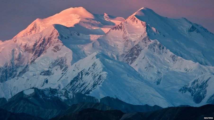 The Mount in the pictures is now called Denali, its original Alaskan name.