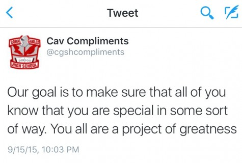 One of @CavCompliments's tweets