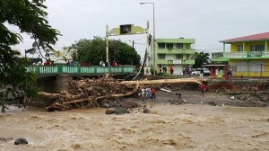 Hurrican Erika caused most devastation in the Dominican Republic with 20 dead and 50 missing.