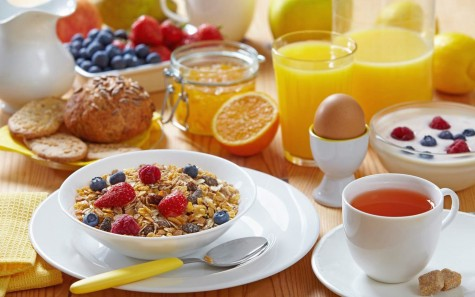A healthy and fulfilling breakfast is a great start to a new day.