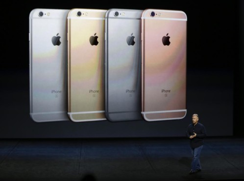 Apple presento el nuevo iPhone 6s y 6s Plus.