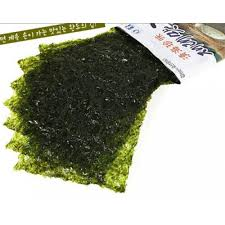 Seaweed tastes great and you'll never see your friends eating it too!