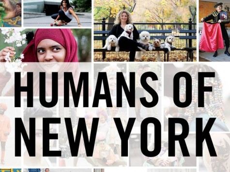 The cover of the HONY book show the pictures of people who have been interviewed.